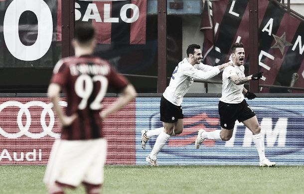 Risultato finale Atalanta - Milan 1-3