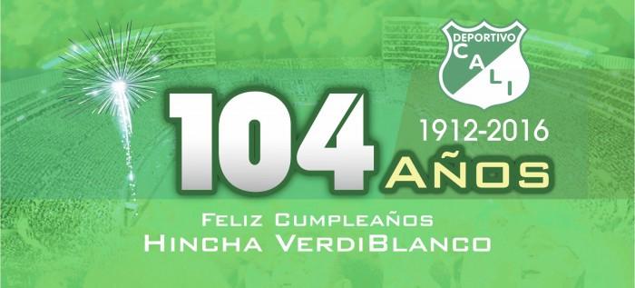 Deportivo Cali: 104 años de historia y gloria