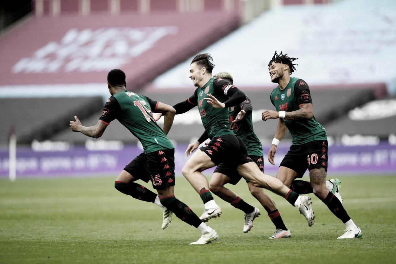 Dramático! Com gols no fim, Aston Villa empata com West Ham e permanece na elite