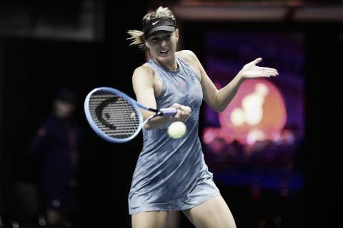 Jogando pela primeira vez no torneio, Sharapova despacha Gavrilova em São Petersburgo