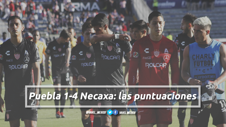 Puebla 1-4 Necaxa: las puntuaciones de Necaxa en la jornada 5 de la Liga MX Clausura 2019