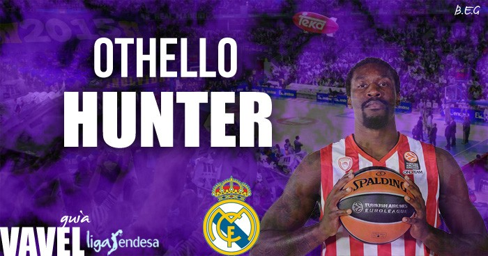 Othello Hunter Guía Real Madrid Baloncesto