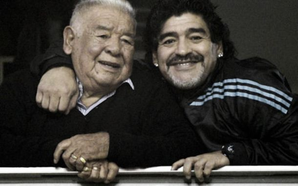 """Maradona: """"Mio padre era il mio idolo"""""""