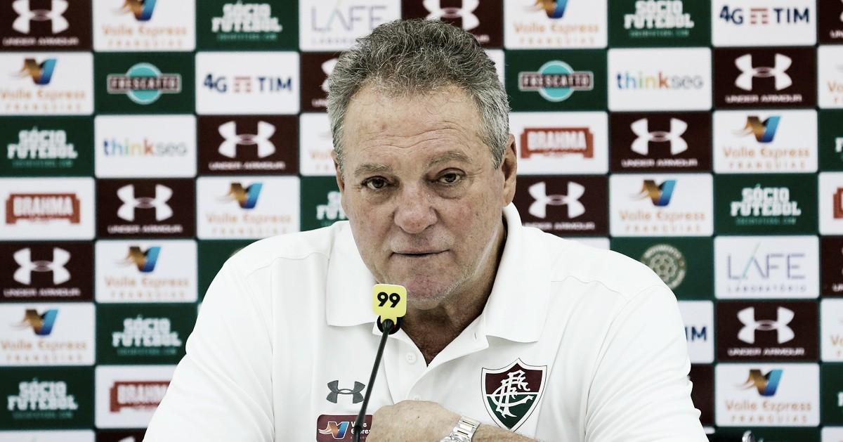 Abel Braga lamenta derrota para o Botafogo: ''Não merecíamos''