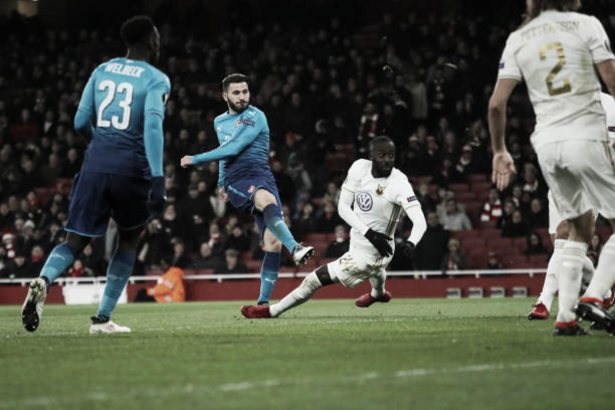 Arsenal toma susto, perde para Ostersunds em casa, mas se classifica na UEL