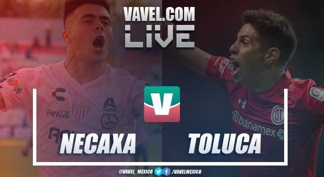 Resumen y goles del partido Necaxa 1-1 Toluca en Liga MX 2019