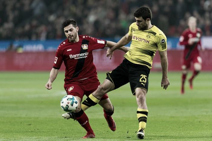Com Peter Bosz pressionado, Dortmund fica no empate contra Leverkusen