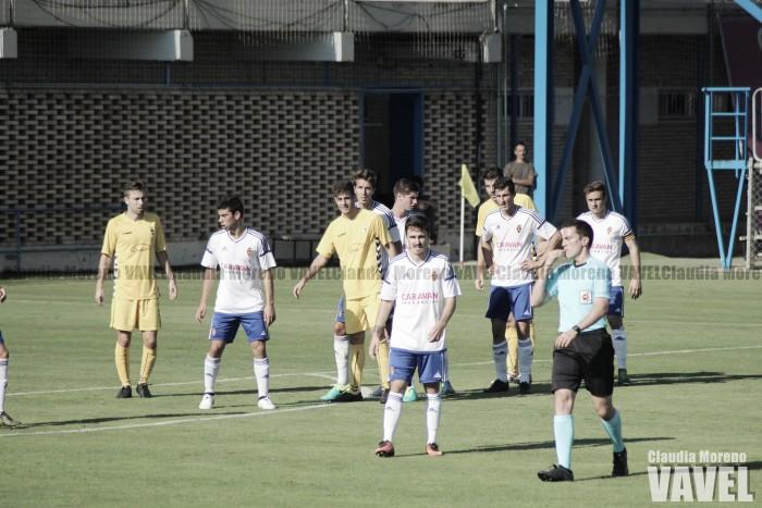 Fotos e imágenes del Deportivo Aragón 0-0 Robres, jornada 9 de Tercera División