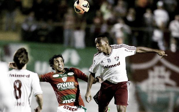 Diogo marca no fim e Portuguesa vence o Fluminense