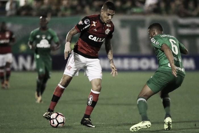 """Guerrero valoriza placar zerado em Chapecó: """"Sempre bom não levar gol"""""""