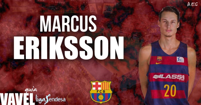FC Barcelona Lassa 2016/17: Marcus Eriksson, un paso más