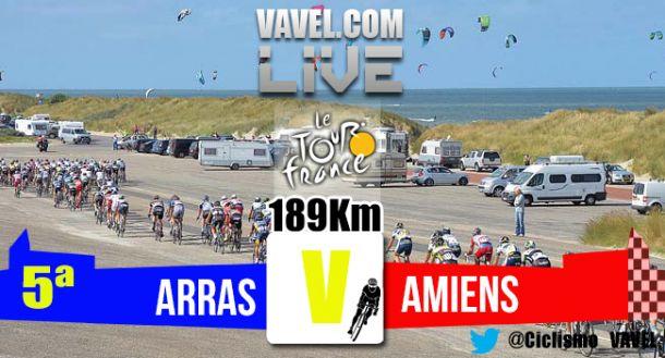 Resultado de la 5ª etapa: Arras- Amiens Métropole