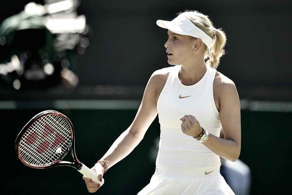 Upset alert: Vekic derruba Stephens em sets diretos e segue à segunda rodada em Wimbledon