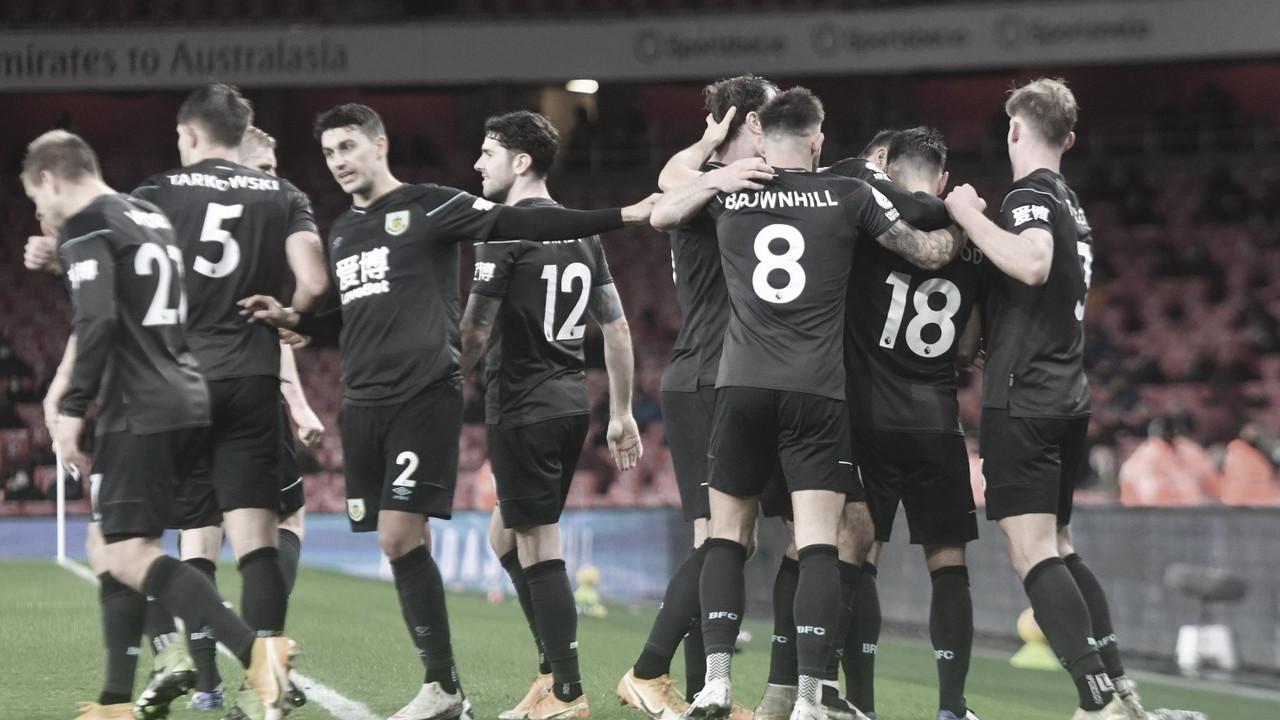 El Burnley también le gana al Arsenal