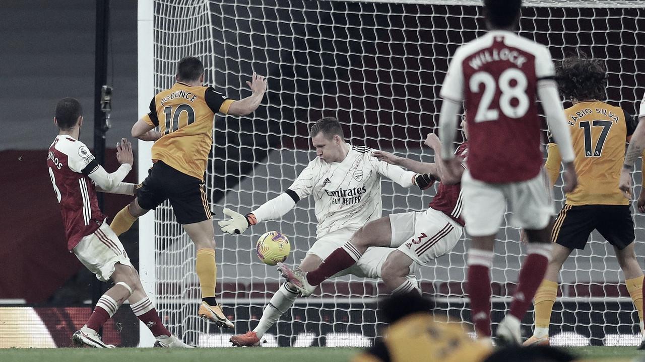 Daniel Podence hizo el gol de la victoria en el Emirates. / Foto: @premierleague