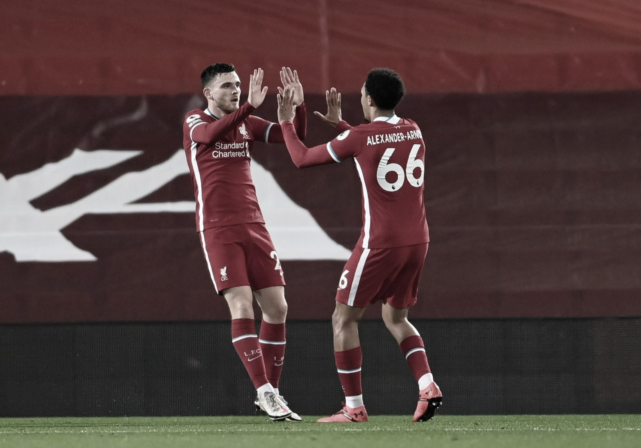 El Liverpool destroza al mismo Arsenal de siempre