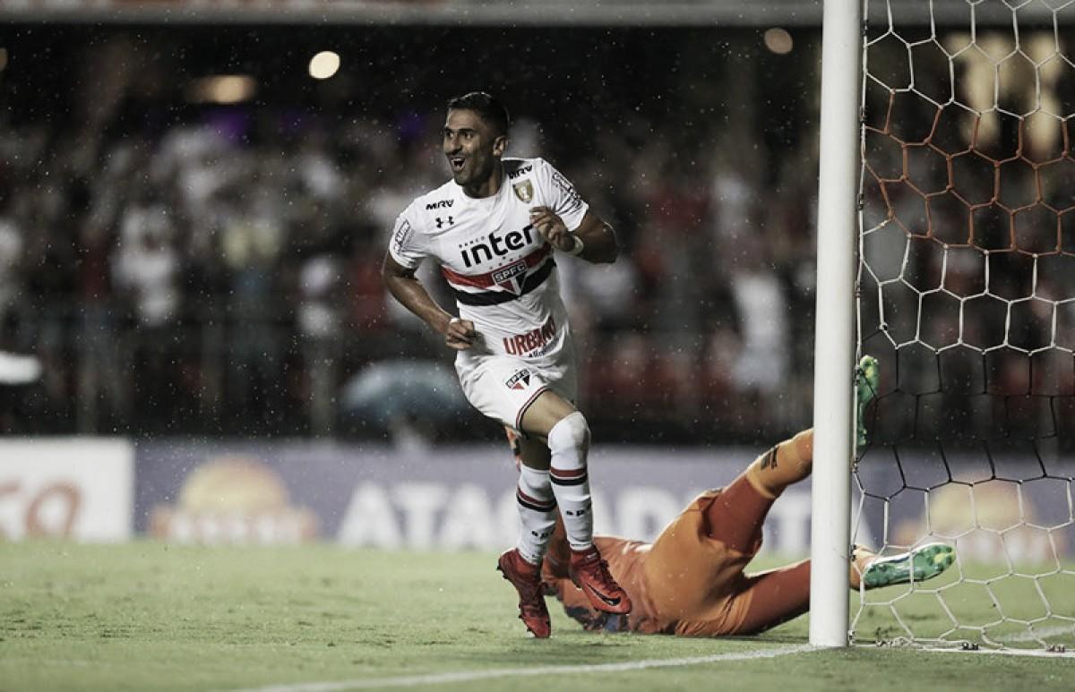 São Paulo passa sufoco, mas vence São Caetano e garante vaga nas semifinais do Paulistão