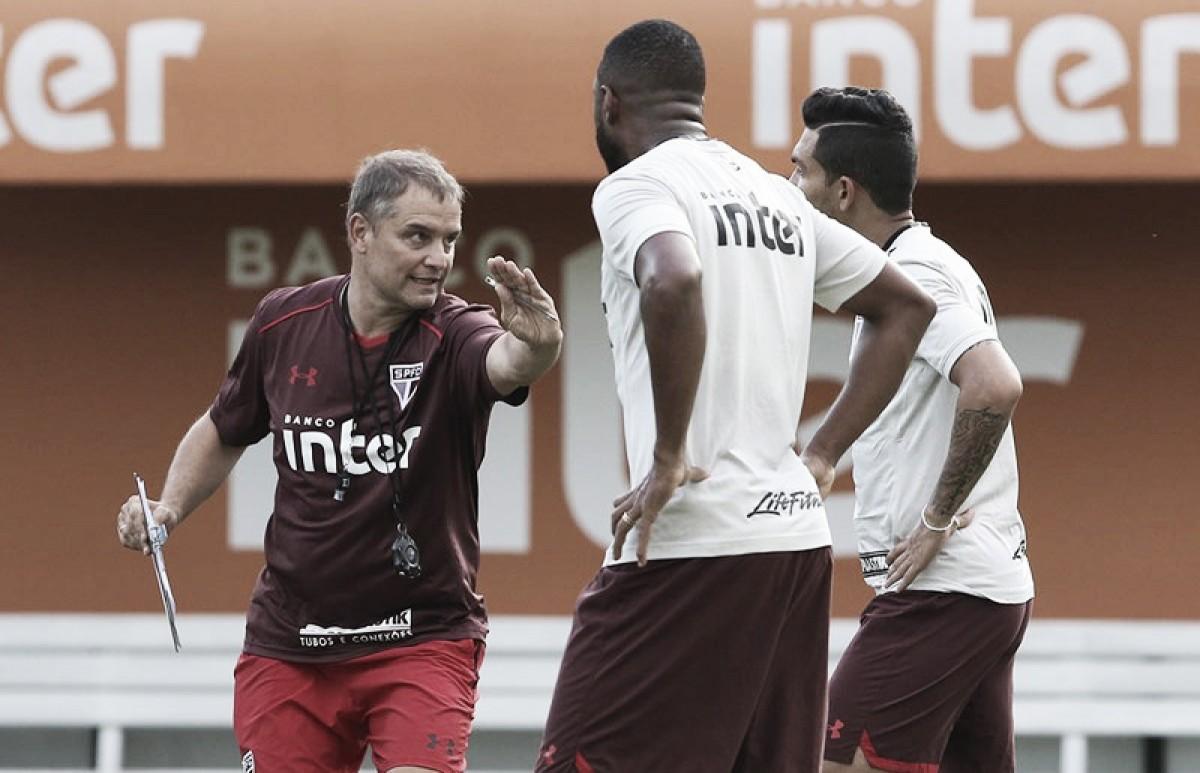 Sob comando de Aguirre, São Paulo visita São Caetano nas quartas de final do Paulistão