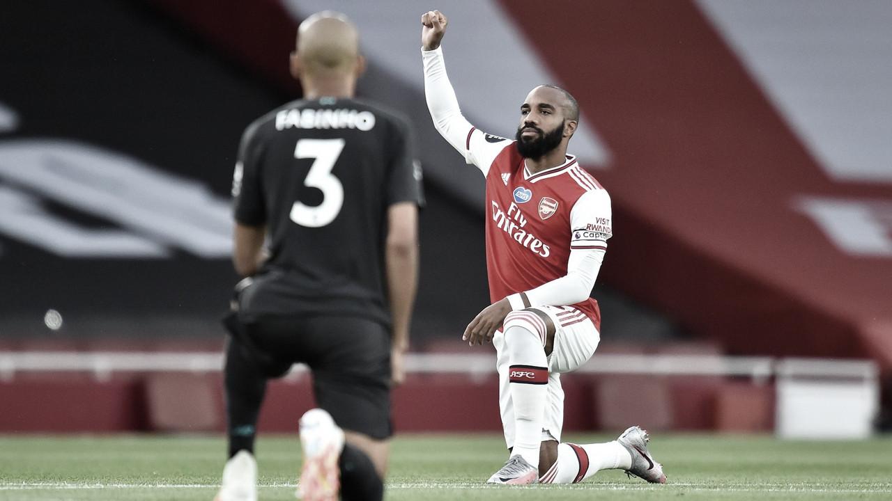 El Arsenal vence al Liverpool campeón