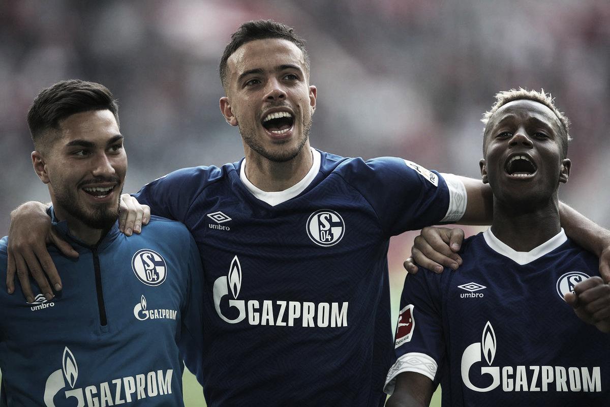 Schalke 04 vence Dusseldorf e sai da zona de rebaixamento da Bundesliga
