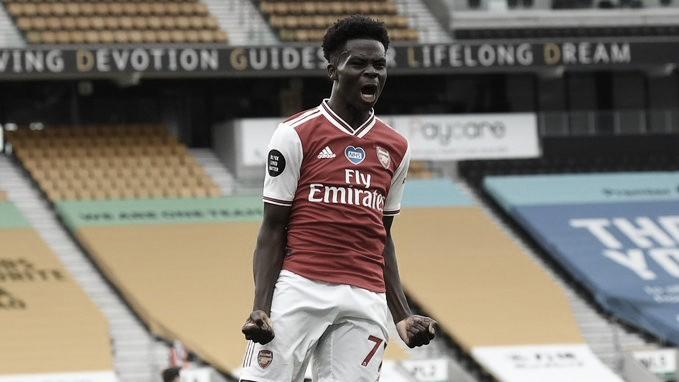 El Arsenal complica las aspiraciones europeas del Wolves