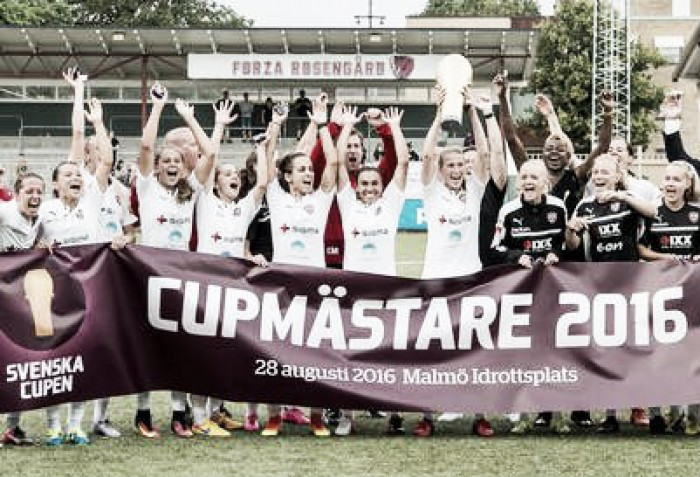 Svenska Cupen Final - FC Rosengård 3-1 Linköpings FC: Rosengård end near 30-year wait for cup success