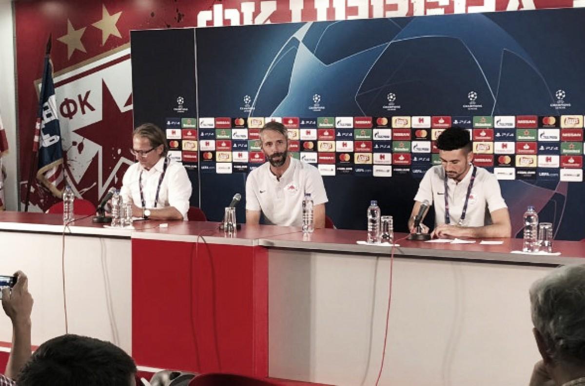 """Marco Rose lamenta desclassifcação do Salzburg e desabafa: """"É extremamente decepcionante"""""""