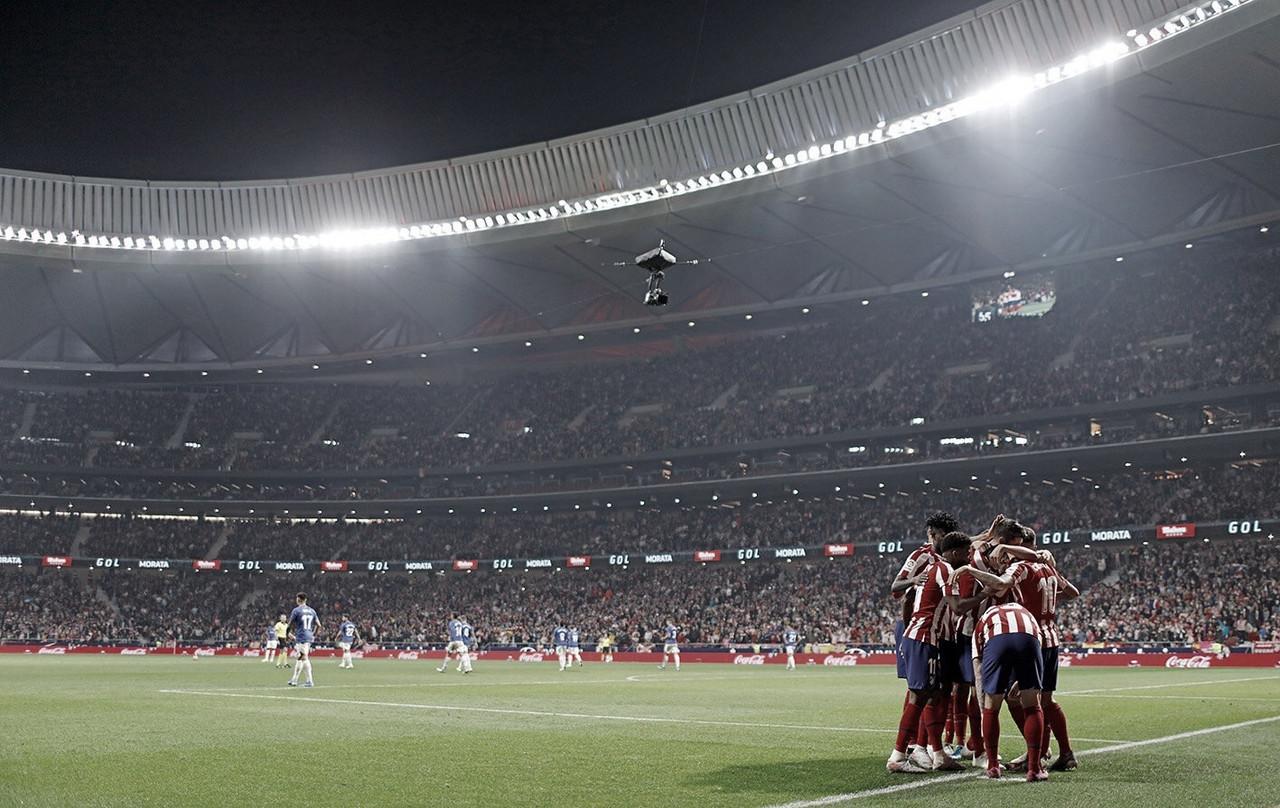 Atlético de Madrid bate Bilbao e encosta na liderança do Espanhol