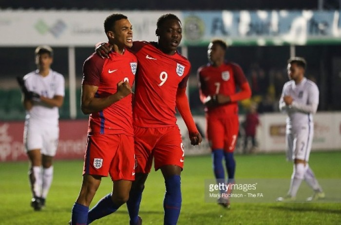 Greece U19 0-2 England U19: England top group with polished performance