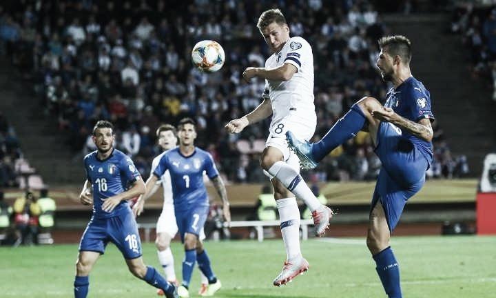 Jogo Liechtenstein x Itália AO VIVO online pelas Eliminatórias da Euro 2020