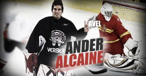 """Entrevista. Ander Alcaine: """"No me veo jugando en la NHL"""""""