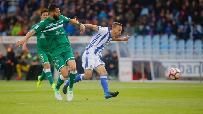 Liga: la Real Sociedad non vince più, solo 1-1 con il Leganès