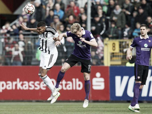 VfR Aalen 3-0 Erzgebirge Aue: Hosts earn vital win in basement battle