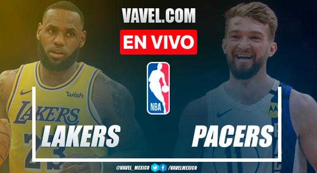 Resumen y mejores momentos del Lakers 122-115 Pacers en NBA 2021