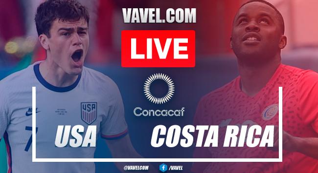 Highlights: USA 4-0 Costa Rica inFriendly match 2021