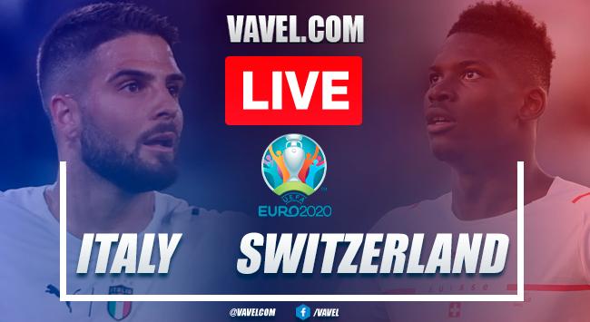 As it happened: Italy 3-0 Switzerland in Euro 2020