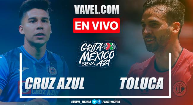 Resumen y goles: Cruz Azul 4-0 Toluca en Jornada 4 de Liga MX Apertura 2021