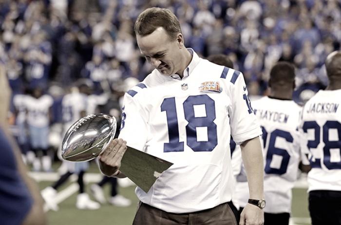 Los Colts honran a Peyton Manning