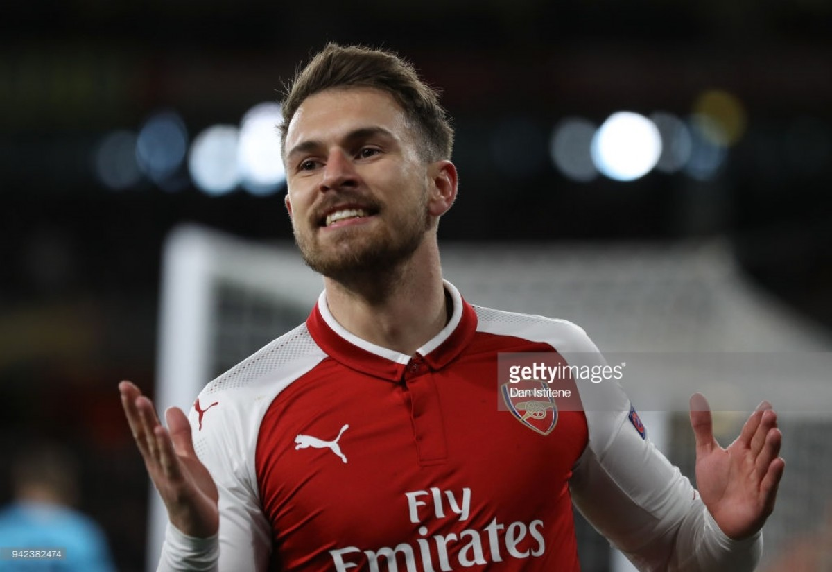 Aaron Ramsey wins 2017/18 Arsenal Player of the Season