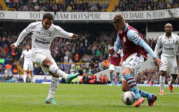 Villa Fall to Spurs at The Lane