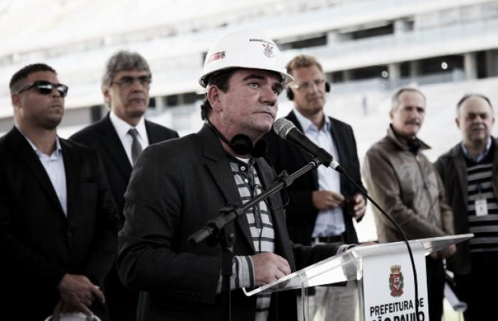 Andrés Sanchez revela não ter medo de investigações e garante pagamento da Arena Corinthians