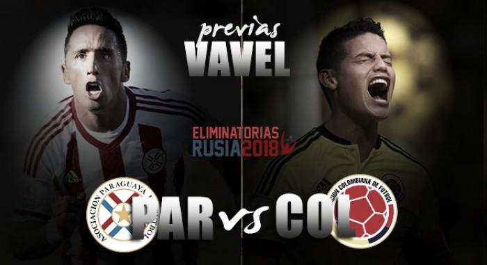 Previa Paraguay - Colombia: los 'cafeteros' buscan cerrar la primera vuelta de las Eliminatorias con una victoria