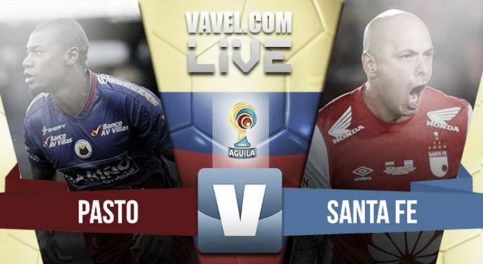 Deportivo Pasto vs Independiente Santa Fe en vivo y en directo online por la Liga Águila 2 (0-1)