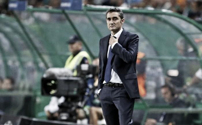 """Apesar de vitória, Valverde prega cautela com Barcelona na Champions: """"Nada está decidido"""""""