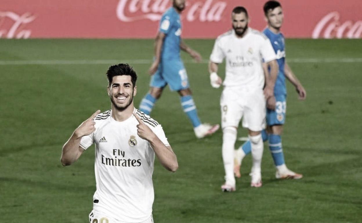 El Real Madrid condena al Valencia