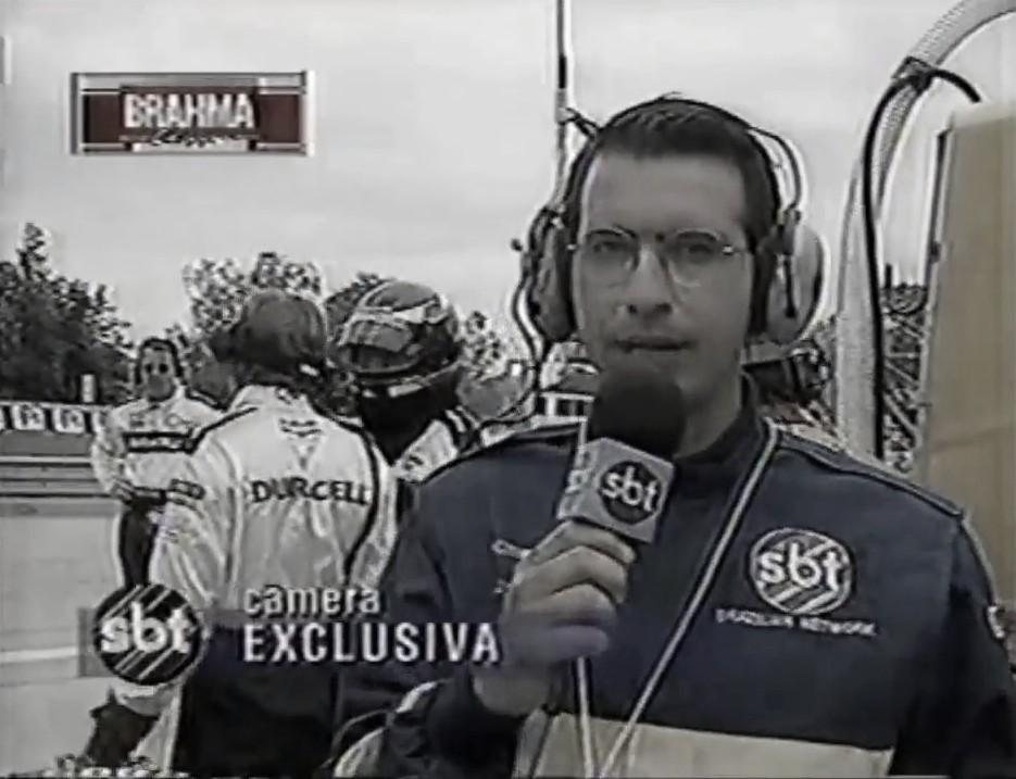 """Jornalista Luiz Carlos Azenha relembra transmissões da """"Fórmula Mundial' na década de 1990"""