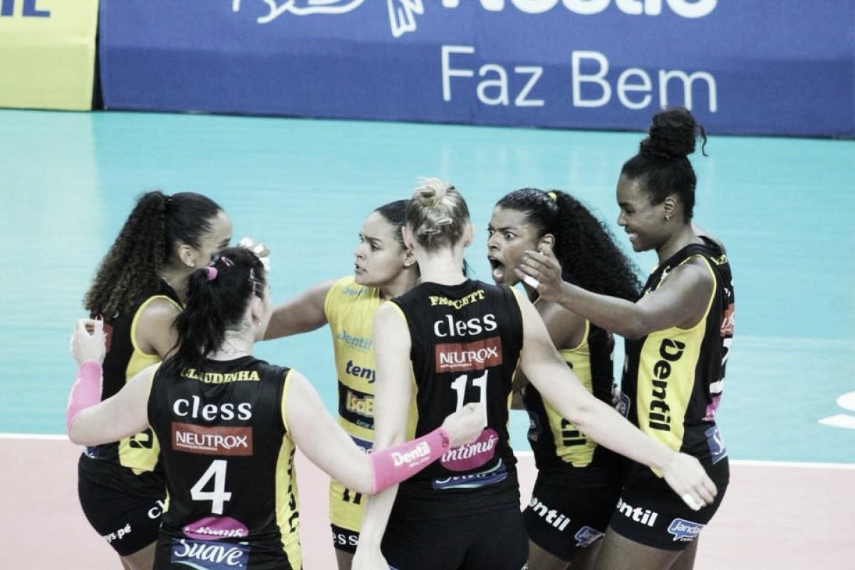 Praia Clube vence Osasco, retoma vantagem e fica a uma vitória da final da Superliga