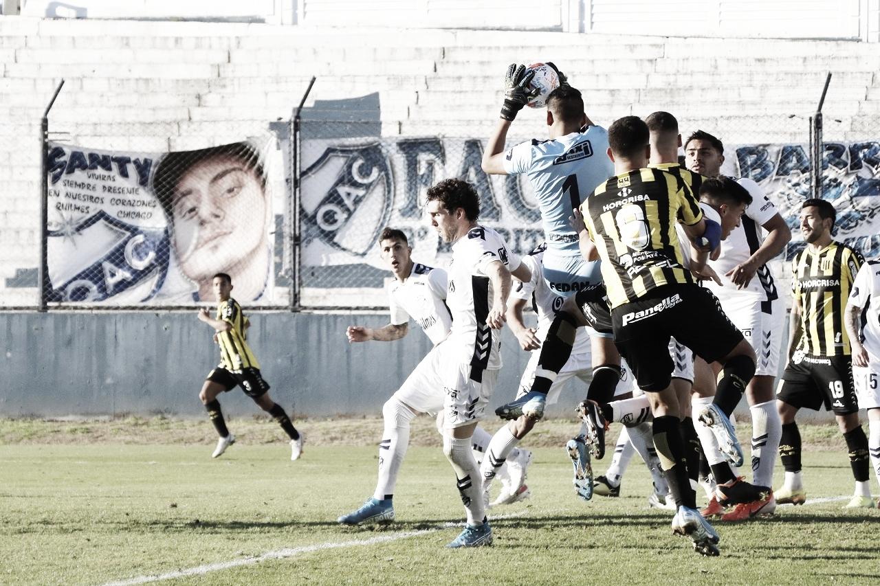 Se terminó la racha ganadora: Quilmes le ganó de local a los Aurinegros