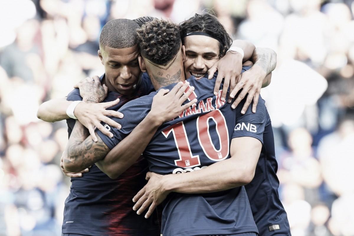 Trio de ataque brilha e Paris Saint-Germain vence Angers pela Ligue 1