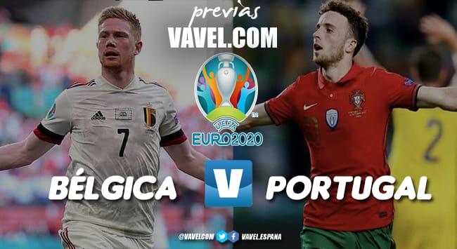 Previa Bélgica vs Portugal: Una final anticipada